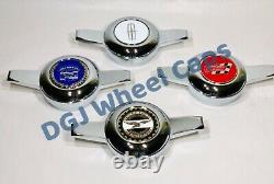 Zenith Cut Chrome Knock-Off Spinners for Lowrider Wire Wheels (M)