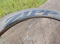 Zipp 404 Firecrest V3 Clincher Carbon Rear Wheel 700c Rim Brake 11Spd Shimano